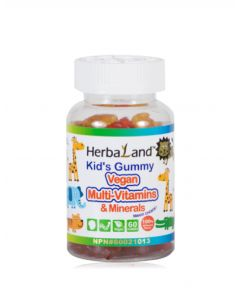 HerbaLand Kid's 兒童綜合維生素 60 Gummies