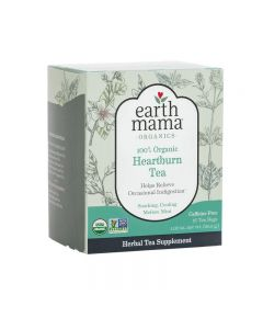 Earth Mama Organic Heartburn Tea 16 Tea bags