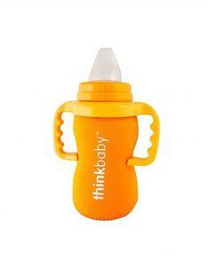 Thinkbaby石灰石保溫瓶套 - 橙色