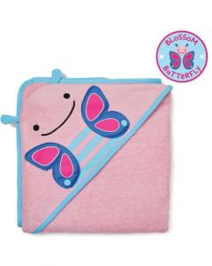 Skip Hop Zoo Towel/Mitt set - Butterfly