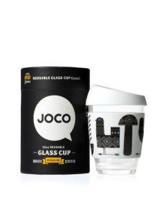JOCO cups 玻璃咖啡隨行杯 - Adrian Knott 12oz