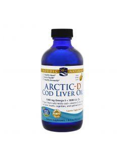 Nordic Arctic Cod Liver Oil Lemon 237ml