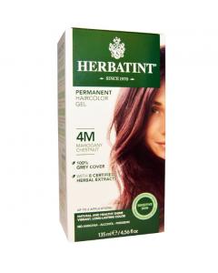 意大利Herbatint天然植物染发剂 4M- 红褐栗色 40余年无氨植物染发专家 孕妇可用
