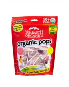 YumEarth有機果汁棒棒糖 349g (50+ Pops)