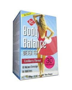 Uncle Lee's Body Balance Dieter Tea Cranberry Flavour 60g 30Tbags