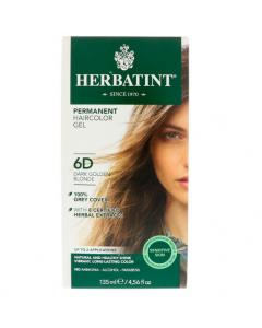 Herbatint Dark Gloden Clonde 6D 135ml