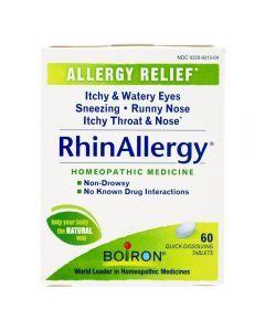 Boiron Rhinallergy Allergy Relief 60 Tabs
