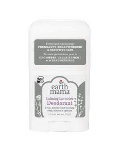 Earth Mama Calming Lavender Deodorant Travel Size - For Pregnancy, Breastfeeding and Sensitive Skin 17g