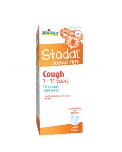 Boiron Stodal Children's Cough Syrup Sugar Free 125ml