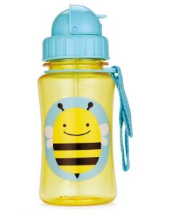 Skip Hop Zoo Straw Bottle 12 oz -Bee