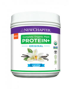 New Chapter Complete Organic Plant Protein+ Original Vanilla 423g