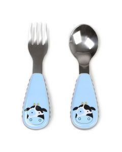 Skip Hop Zoo Utensil Set - Cow