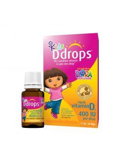 D-Drops 婴幼儿维生素D3 400IU 60滴
