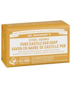 Dr. Bronner's Pure Castile Bar Soap Citrus 140g