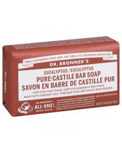 Dr. Bronner's Pure Castile Bar Soap Eucalyptus 140g