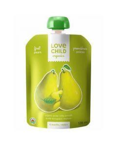 Love Child 有機果泥(梨),125毫升無麩質