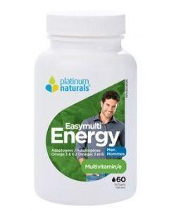 Platinum Naturals 男性能量復合維生素膠囊 60粒