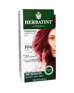 意大利Herbatint天然植物染发剂 FF4- 紫色 40余年无氨植物染发专家 孕妇可用