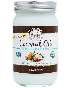 La Tourangelle Organic Coconut Oil 414ml