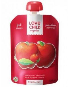 Love Child 有機果泥(蘋果),125毫升無麩質