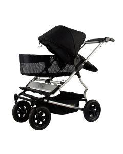 Mountain Buggy Duet V3 Single Stroller - Black
