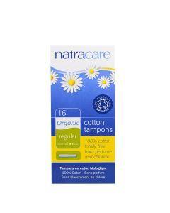 Natracare 天然有機衛生棉條 16 Regular Tampons