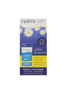 Natracare 天然有機衛生棉條 16 Super Tampons