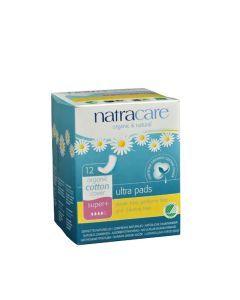 Natracare 超棉超薄衛生巾 12 量多型(super+)
