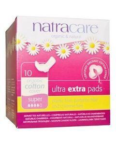 Natracare 有機 衛生護墊10 Pads Super