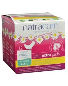 Natracare 有機 衛生護墊12 Pads Normal