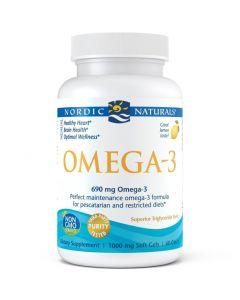 Nordic Omega-3 檸檬味 60粒軟膠囊