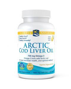 Nordic Arctic Cod Liver Oil 1000mg 90Sgels