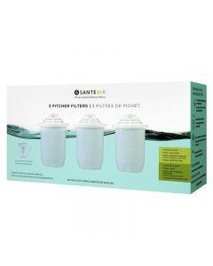 Santevia Alkaline Pitcher Filter 3 Pack