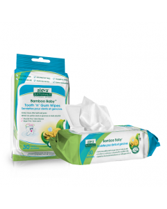 Aleva Bamboo Baby Tooth N Gum Wipes 30PK