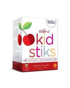 SISU 兒童酯化維生素營養沖劑 櫻桃 30條
