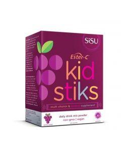 SISU 兒童酯化維生素營養沖劑 葡萄 30條