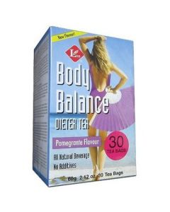 Uncle Lee's Body Balance Dieter Tea Pomegranate Flavour 60g 30Tbags