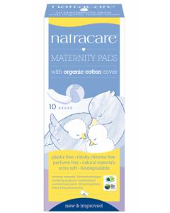 Natracare 有機產婦衛生巾10片裝