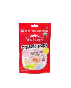 YumEarth 有機果汁棒棒糖 85g (14 Pops)