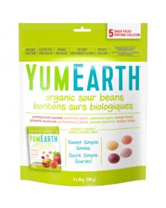 YumEarth Organic Sour Beans 5x20g