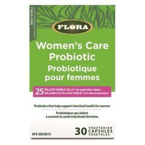 Flora Women's Care Probiotic 25Billion 30Vcaps