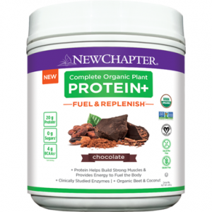 New Chapter Complete Organic Plant Protein+ Fuel & Replenish Chocolate 438g