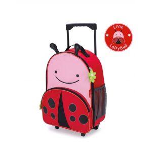 Skip Hop Zoo Kids Luggage - ladybug