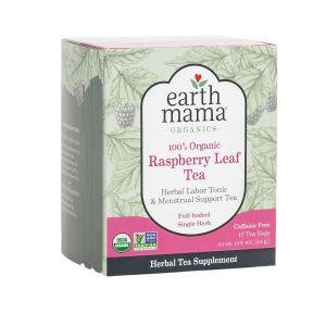 Earth Mama Organics Raspberry Leaf Tea 16 teabags