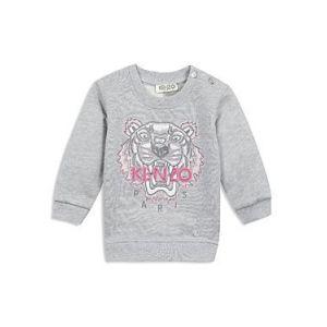 Kenzo Kids Girls Grey Tiger Sweatshirt - 6A