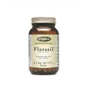 Flora 矽 4.7mg 90 素食膠囊