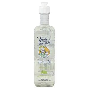 Nellie's All in One Soap Peppermint 570ml 19.2oz