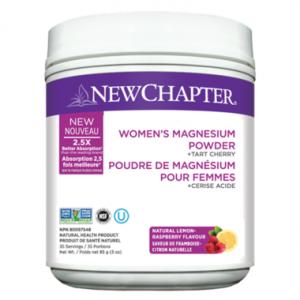 New Chapter Women's Magnesium Powder + Tart Cherry 85g