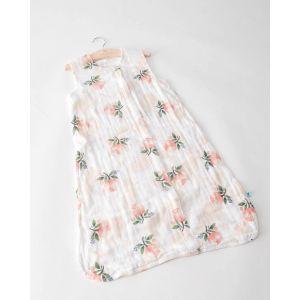 Little Unicorn Cotton Muslin Sleep Bag Small Watercolor Rose