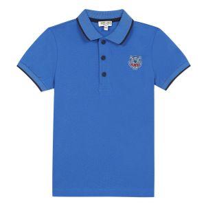 Kenzo Tiger Polo JB 1 T-shirt - King Blue 8A